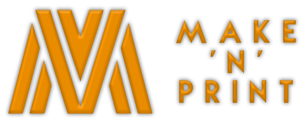 image of the Make 'N' Print Logo